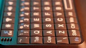 Mini Keyboard stock video