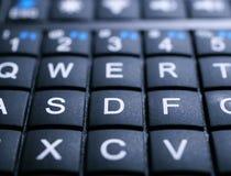 Mini Keyboard-Abschluss oben lizenzfreie stockbilder