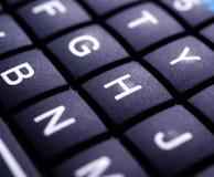 Mini Keyboard-Abschluss oben stockfotografie