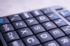 Mini Keyboard-Abschluss oben lizenzfreies stockfoto