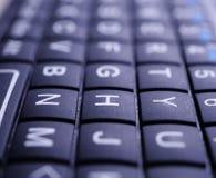 Mini Keyboard-Abschluss oben lizenzfreie stockfotos