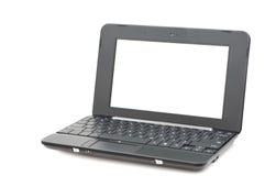 mini komputerowy laptop Zdjęcia Stock