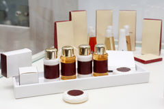 Mini kosmetyka zestaw Obrazy Royalty Free