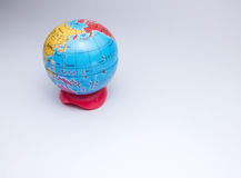 Mini kula ziemska planety ziemia zdjęcia royalty free