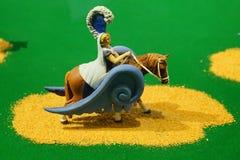 A mini lady statue. A mini statue in John Ringling circus museum, sarasota, Florida Royalty Free Stock Images
