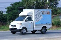 Mini- lastbil av den Thum deedesignen Arkivfoto