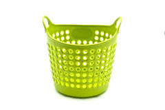 Mini laundry basket Royalty Free Stock Photography