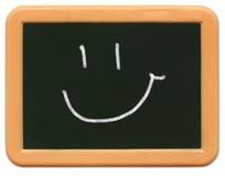 Mini lavagna del bambino - smiley Immagini Stock Libere da Diritti