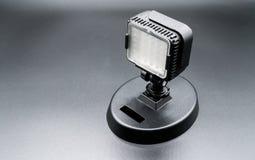Mini-LED-lichttechnische Ausrüstung für Video und Fotografie Stockfotografie