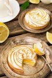 Mini lemon meringue pies Royalty Free Stock Photography