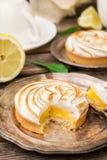 Mini lemon meringue pies Royalty Free Stock Photo