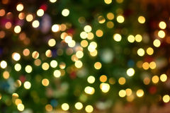 Mini light bokeh Royalty Free Stock Image