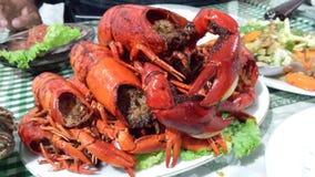 Mini lobsters Stock Photo