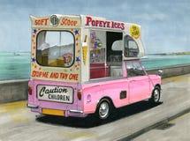 Mini lody Van zdjęcie royalty free