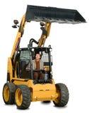 Mini máquina escavadora com excitador Fotografia de Stock
