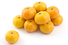 Mini mandarin oranges Royalty Free Stock Photography