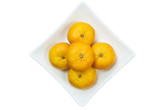 Mini mandarines Photos stock