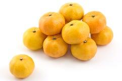 Mini mandarini Fotografia Stock Libera da Diritti