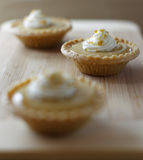 Mini maple syrup tart Royalty Free Stock Photo