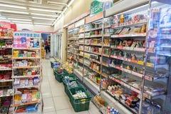 7-11 Mini-Markt Stockbilder