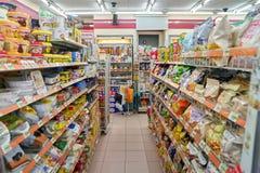 7-11 Mini-Markt Stockbild