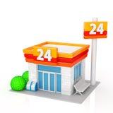 Mini-Markt Lizenzfreies Stockfoto
