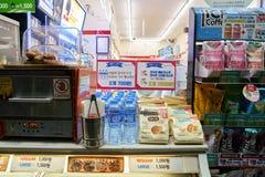 Mini-Markt 7-Eleven Stockbilder