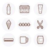 Mini-Markts-Ikone #2 Lizenzfreies Stockbild