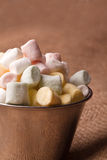Mini marshmallow Royalty Free Stock Image