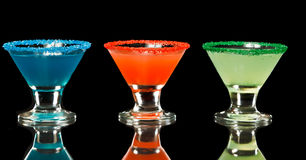Mini Martinis Stock Photography