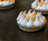 Mini Meringue Arkivfoto