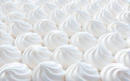 Mini Meringue Swirls blanco Imágenes de archivo libres de regalías