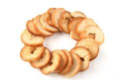 Mini microplaquetas cozidas do pão Fotos de Stock Royalty Free