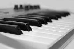 Mini midi keyboard controller Royalty Free Stock Photo