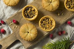 Mini Mincemeat Pies casalingo immagini stock