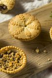 Mini Mincemeat Pies casalingo fotografie stock libere da diritti