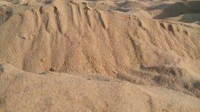 Mini- miniatyrdesignöken och sandbakgrund Arkivfoto