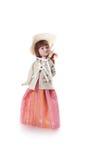 Mini model girl Stock Image