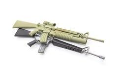 Mini model gun Royalty Free Stock Image