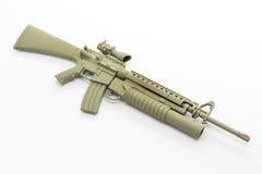 Mini model gun Stock Image