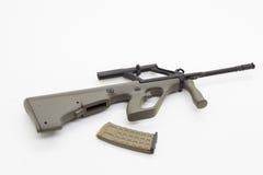 Mini model gun Stock Photo