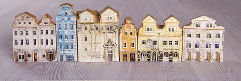Mini model houses Royalty Free Stock Images