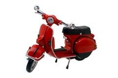 Mini model van oude motorfiets stock foto