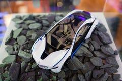 Mini- modell BMW i8 Arkivfoto