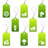 Mini modifiche verdi di eco illustrazione vettoriale