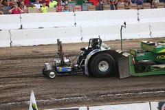 Mini Modified Tractor Pulling in Bowling Green, OH- Lizenzfreies Stockbild