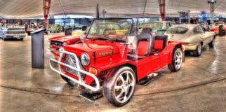 Mini Moke rosso fotografia stock libera da diritti