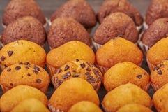 mini molletes deliciosos del sabor del chocolate fotografía de archivo libre de regalías