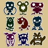 Mini Monsters Stock Photo