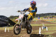 Mini motocross on Phillip Island, Melbourne Stock Images